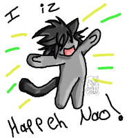 OC- I Iz Happeh Nao by QuinAlagrose