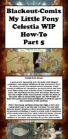 Celestia WIP How-To Tutorial Part 5 by Blackout-Comix