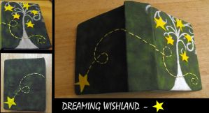 Homemade journal-Dreaming wish by Zenxara
