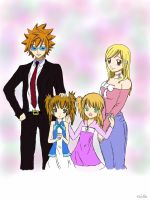 What If Loke And Lucy Had Children... by TerrifyingTurtleNeck