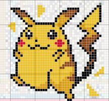 Pikachu Pattern by takocos