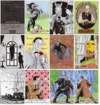 Memoirs of Sherlock Holmes Sketch Cards 1 by Bowthorpe
