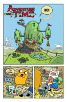 Adventure Time PG1 by deanrankine