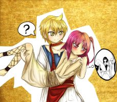MAGI :  don't hold me! by Bubachan333