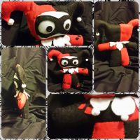 Harley Quinn Plushie-ized by DucklingDoodles