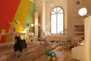 Kids room by ka-da