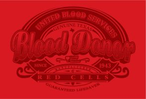 united blood service shirt by Satansgoalie