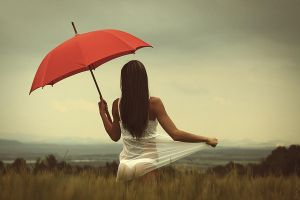 red umbrella by fotoPScz