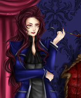 Mrs Asherfel by artisticApparition