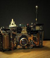 Steampunk camera project by pinochioO-5
