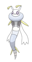 #015 Ghoulver by Smiley-Fakemon