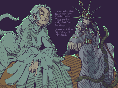 Spookloween in Anor Londo from daily doodles by LiarJohnny