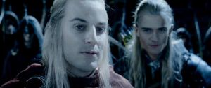 Legolas and Haldir by HowlforWolfgang