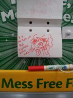 Mess free MARKER!?! by VictumXXIII