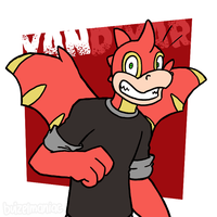 Van the Red Scorchio by buizelmaniac