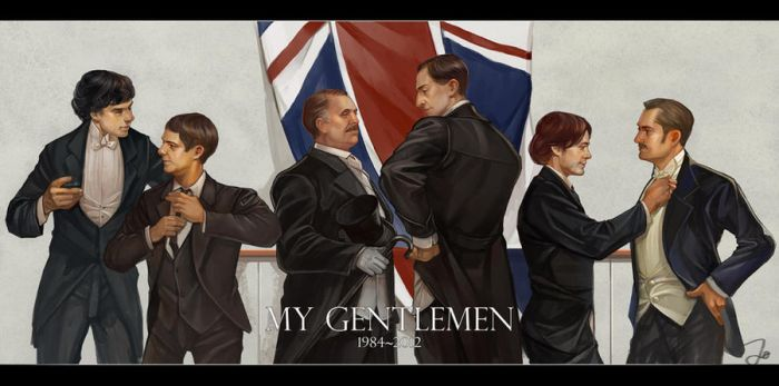 My gentlemen by godforget