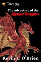 Ebook Cover: The Jigsaw Dragon by TeamGirl-Differel