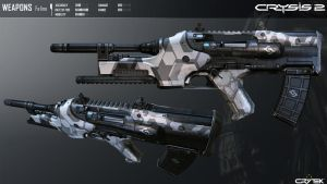Crysis 2 Feline Sub Machine Gun by Scarlighter
