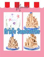 Ariel's Sandcastle Wine Glass by ForesakenFaerie