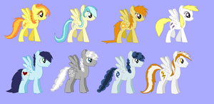 Wonderbolts Revised by ive-moved-bitches