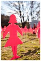 Floriade 2010 - Cut-Out Girl by jawg1982