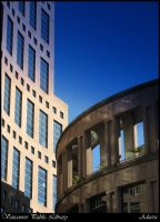 Vancouver Public Library by Adaera