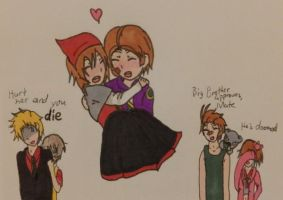 Hetalia- HuttElle + Family by MapleBeer-Shipper