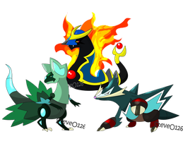 Odysso Final Starter Evo's by SteveO126
