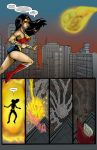 Wonder Woman vs Supergirl colors 2/3 by TheRafaLee