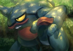 Fav Poison Type - Toxicroak by KoiDrake
