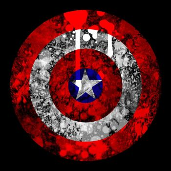 Captain America's shield by L-Remy