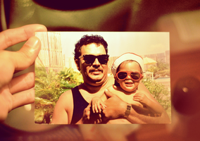 My pops and I by Kenrocks