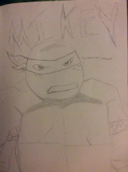 Angry Mikey by TheSepticRaven