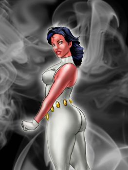 Phantom Girl DC Comics by brcmack