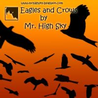 Eagles and Crows Brushes by MrHighsky