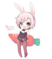 Chibi Bunny Girl Riven by tunako