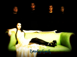Evanescence Background by SingWriteDraw