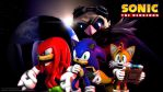 SFM - Sonic The Hedgehog Wallpaper by RatchetMario
