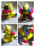 chibi Haxorus plush by LRK-Creations