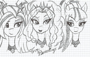 The Dazzlings by DixieRarity