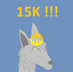 15K Pageviews!!! by Wolf-Rizer