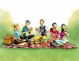 The Archies Picnic by rocom