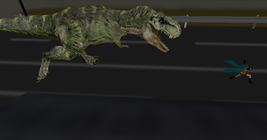 MMD Newcomer T-Rex + DL by Valforwing