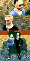 Kaulitz Twins - The Sims 3 by DysfunctionalHuman