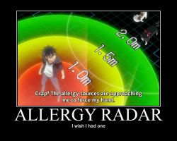 Allergy radar by Ritoshi-Uenohara