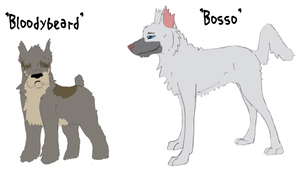 Bloodybeard and Bosso by Songdog-StrayFang