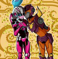 TFA: Arcee and Rody by Wraitany