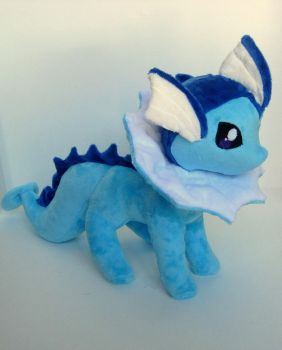 Vaporeon plush by FollyLolly