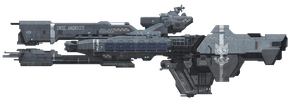 UNSC andraste - the frigate that never was by aruon