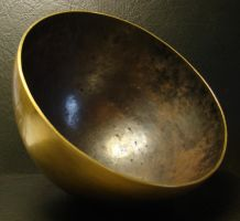 Singing Bowl Inside by TallGuyKen